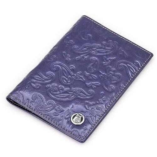 Женская кожаная обложка для паспорта Sergio Valentini СВ 8141-005/1