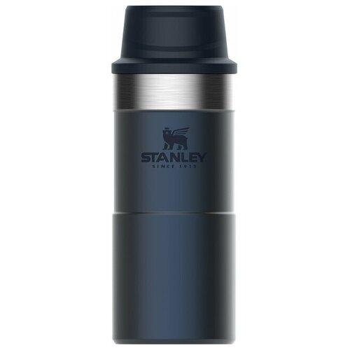 Термокружка Stanley The Trigger-Action Travel Mug 0.35 л синий [10-06440-017]
