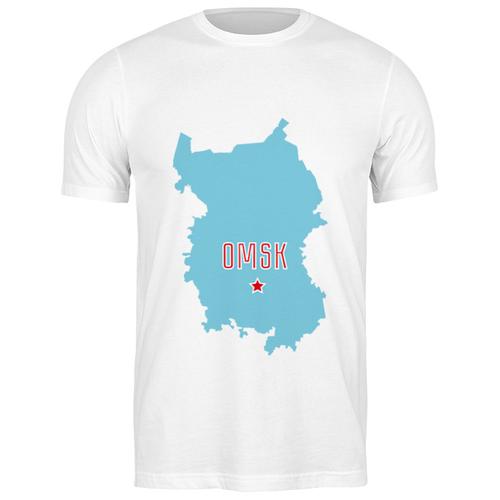 Футболка классическая Омская область. Омск #2194301 (цвет: БЕЛЫЙ, пол: МУЖ, качество: ЭКОНОМ, размер: S)