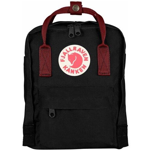 Городской рюкзак Fjallraven Kånken Mini 7, black/ox red