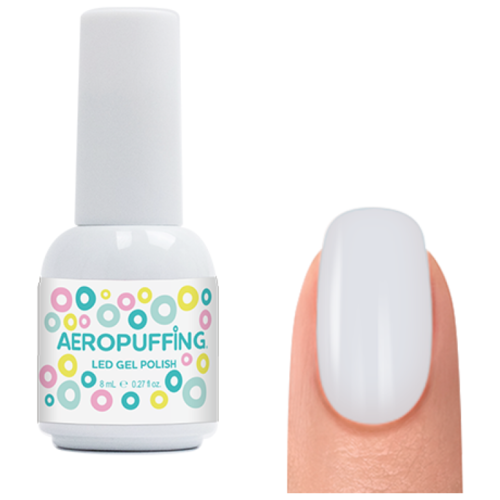 Гель-лак для ногтей Aeropuffing Gel Polish, 8 мл, classic white