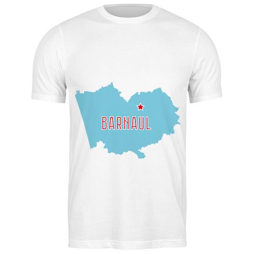Футболка классическая Алтайский край. Барнаул #2192858 (цвет: БЕЛЫЙ, пол: МУЖ, качество: ЭКОНОМ, размер: 2XL)