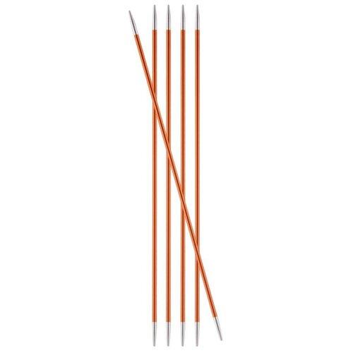 Купить Спицы Knit Pro Zing 47032, диаметр 2.25 мм, длина 20 см, оранжевый