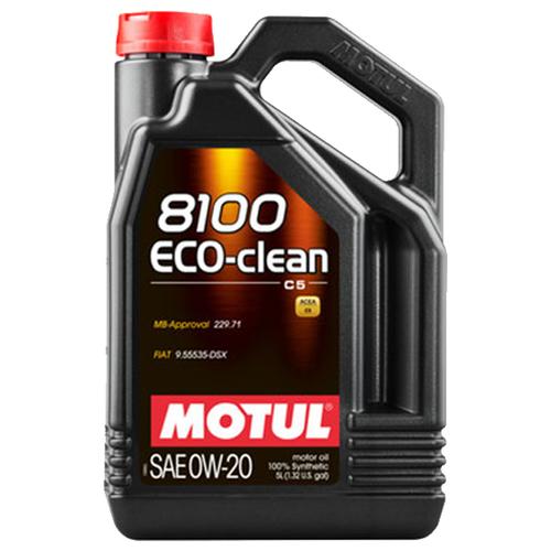 Синтетическое моторное масло Motul 8100 Eco-clean 0W20, 5 л