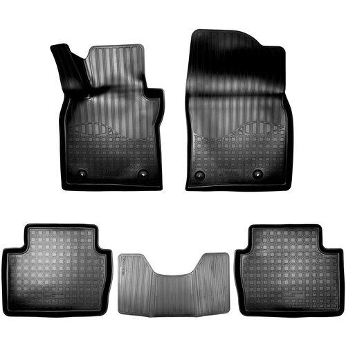 Фото - Комплект ковриков салона NorPlast NPA11-C55-065 для Mazda 3 5 шт. черный комплект ковриков norplast npa11 c94 700 5 шт бежевый