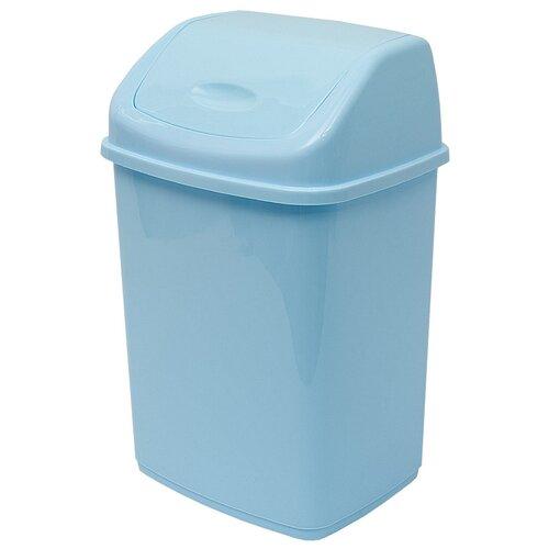Урна для мусора DD Style Фантазия, голубой, 18 л недорого