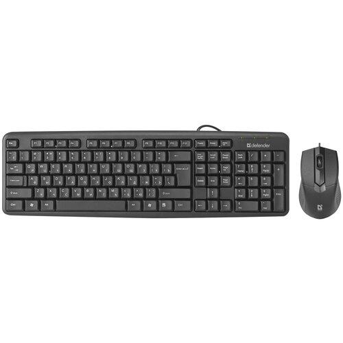 Клавиатура и мышь Defender Dakota C-270 Black USB