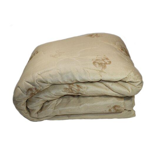 Одеяло стандартное верблюжья шерсть БивикТекс 200х220 см Евростандарт, микрофибра