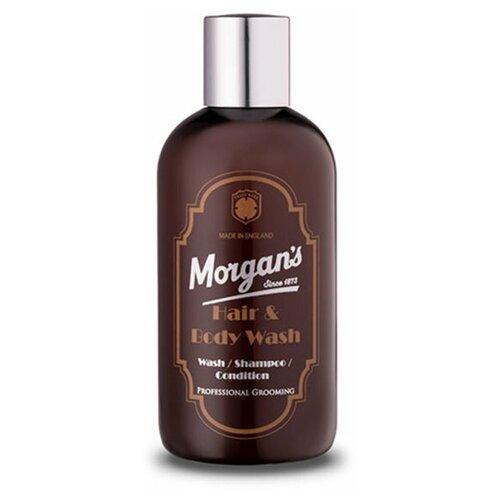 Купить Бессульфатный шампунь для волос и тела Morgans 250 мл, Morgan's