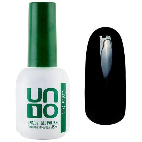 Купить Гель-лак для ногтей UNO Color Классические оттенки, 12 мл, 002 Черный