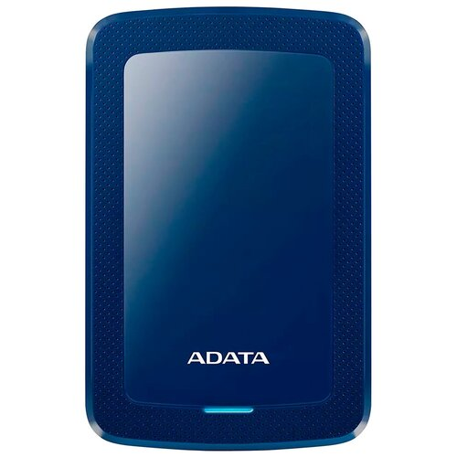 Фото - Внешний HDD ADATA HV300 2 TB, синий внешний hdd adata hd710 pro 2 tb красный
