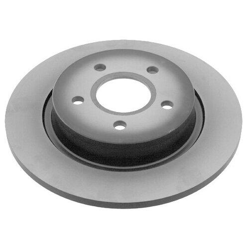Тормозной диск задний TRW DF4372 265x10.9 для Ford Focus, Ford C-Max диск тормозной задний ford ag1z2c026a ford explorer 2010