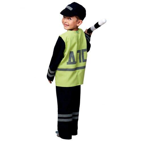 Купить Костюм полицейского ДПС, размер 116-122 см., КарнавалOFF, Карнавальные костюмы