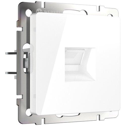 Розетка Ethernet RJ-45 белая Werkel W1181001/ Розетка Ethernet RJ-45 (белый)