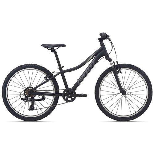 Фото - Подростковый горный (MTB) велосипед Giant XtC Jr 24 (2021) черный (требует финальной сборки) велосипед giant escape 3 disc 2021 металик черный m