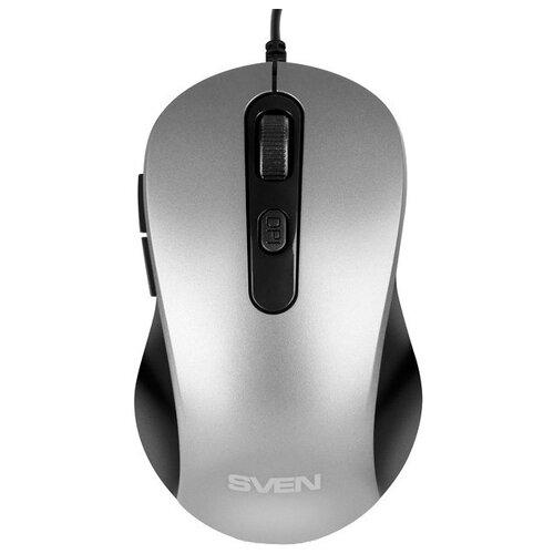 Мышь SVEN RX-114, серый