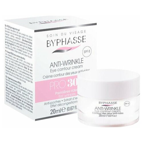 Byphasse Крем для кожи вокруг глаз Pro30 Anti-Wrinkle Eye Contour Cream, 20 мл крем для кожи вокруг глаз eye contour cream for man 30мл