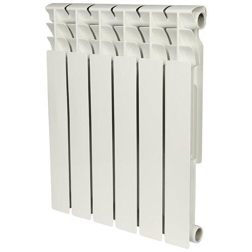 Радиатор секционный биметаллический ROMMER Optima Bm 500, кол-во секций 6, 462 мм. подключение универсальное боковое, по цене 2 940