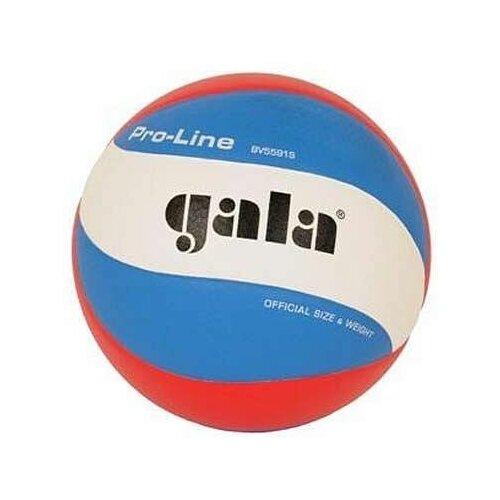 Мяч волейбольный Gala Pro-Line FIVB (BV5591S, голубой, красный, PR, 5)