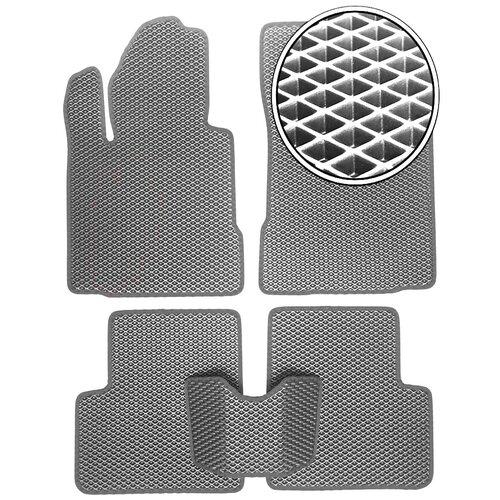Автомобильные коврики EVA Skoda Rapid 2014 - настоящее время - Серый