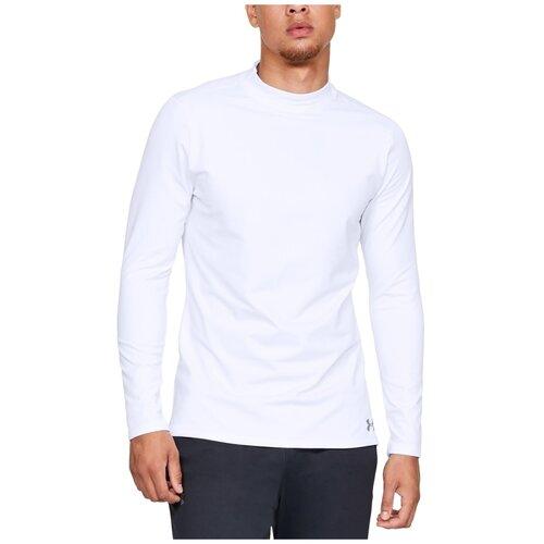 лонгслив under armour hg long sleeve размер xl white metallic silver 100 Футболка Under Armour размер XL, 100 white/steel
