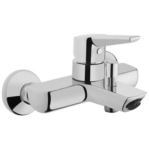 Фото - Смеситель для ванны с подключением душа VitrA Solid S A42444EXP однорычажный хром смеситель для ванны vitra matrix a41762exp