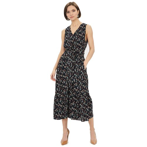 Фото - Платье Baon, размер XXL, dark navy printed шорты baon размер xxl 52 dark beige