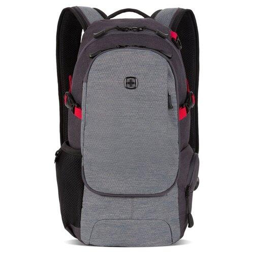 Рюкзак SWISSGEAR, серый, полиэстер, 24 х 15,5 х 46 см, 15,5 л Swissgear MR-3598401409