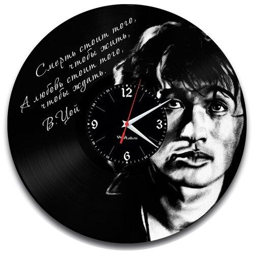 Настенные часы из виниловой пластинки