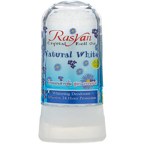 RASYAN дезодорант, кристалл (минерал), Natural White, 80 г