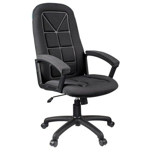 Компьютерное кресло Helmi HL-E89 Blocks для руководителя, обивка: текстиль, цвет: ткань S черная