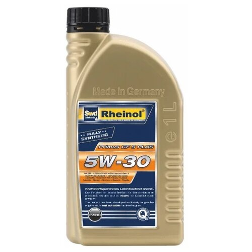 Синтетическое моторное масло Rheinol Primus GF5 Plus 5W-30