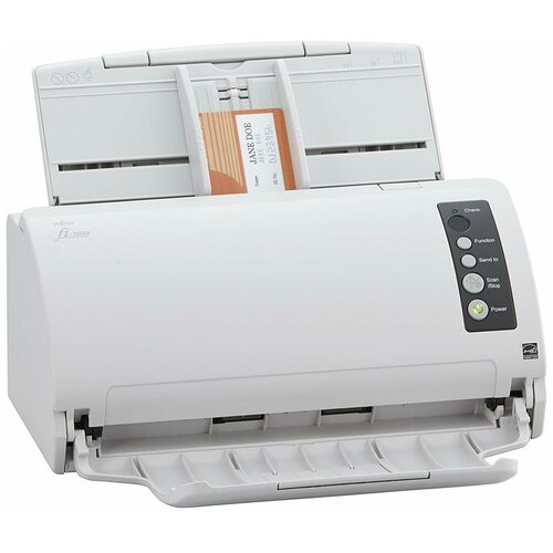 Сканер Fujitsu fi-7030 белый