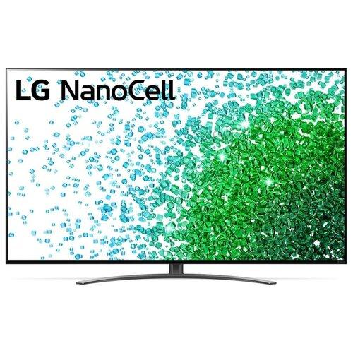 Телевизор NanoCell LG 65NANO816PA 65 (2021), черный телевизор nanocell lg 65nano996na 65 2020 черный