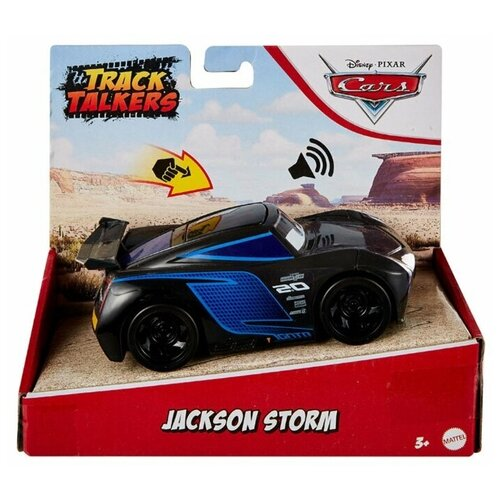 Cars Машинка интерактивная Джексон Шторм mattel машинка cars пол лошсил меняет цвет