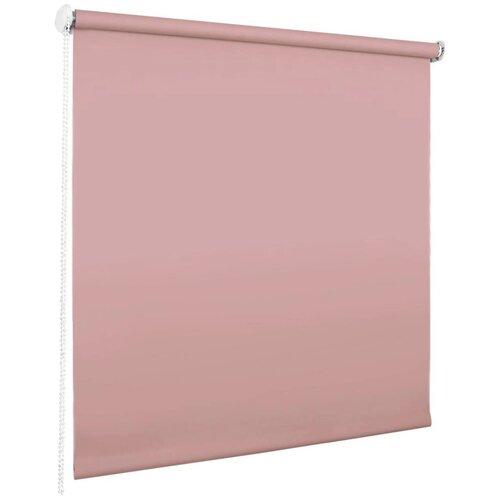 Фото - Рулонная штора Эскар миниролло Blackout (розовый кварц), 37х170 см браслет розовый кварц биж сплав текстиль шамбала 10 мм 16 см регулируемый