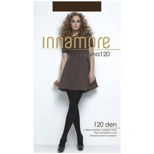 Фото - Колготки Innamore Alpina, 120 den, размер 2-S, moka (коричневый) колготки innamore microfibra 100 den размер 2 s moka коричневый