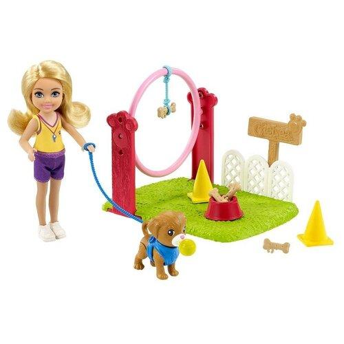 Игровой набор Barbie Дрессировщик собак, GTN62