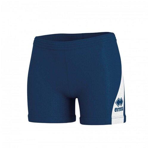 брюки мужские errea fp813z0009550 nevis 3 0 pantalone ad цвет синий размер 3xl Шорты женские ERREA FP940Z01900 AMAZON 3.0 SHORT AD цвет синий размер L