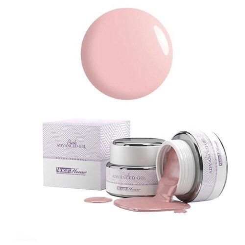 Купить Гель Mozart House Advanced Gel однофазный камуфлирующий для моделирования, 15 мл pink