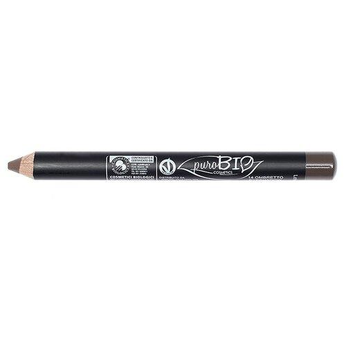 PuroBIO Тени для век в карандаше 14 темно-коричневый