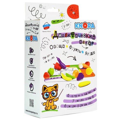 Фото - Настольная игра Knopa Дидактический набор. Овощи, фрукты, ягоды развивающие игрушки knopa дидактический набор мой сад