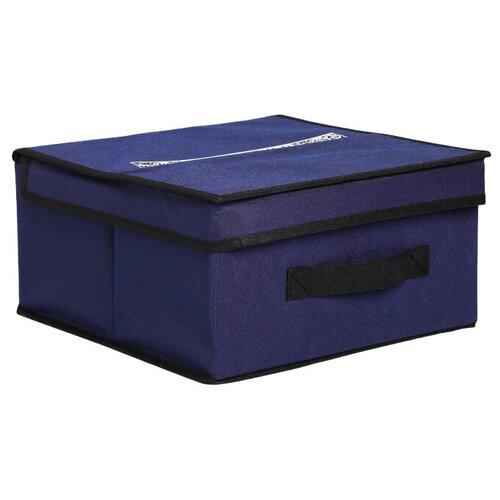 textura короб для хранения с крышкой 28 х 30 х 15 см home Textura Короб для хранения с крышкой 28 х 30 х 15 см Men style