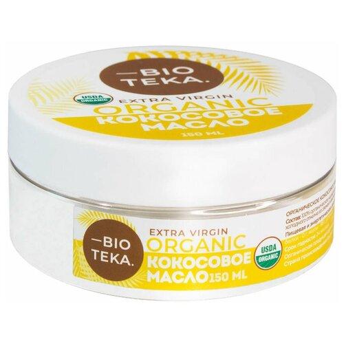 Фото - BIOTEKA масло кокосовое Extra Virgin Organic, 0.15 л aroy d масло 100% кокосовое extra virgin 0 18 л