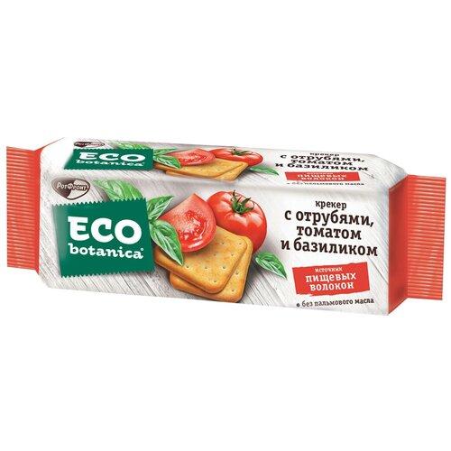 Крекеры Eco botanica с отрубями, томатом и базиликом, 175 г casale paradiso приправа для макарон с томатом и базиликом 100 г