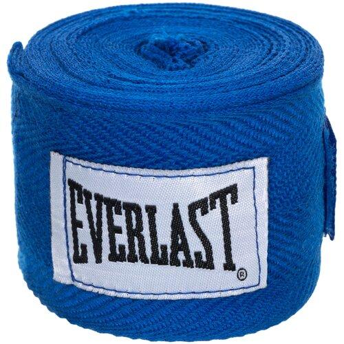 Кистевые бинты Everlast 4465 2,5 м синий