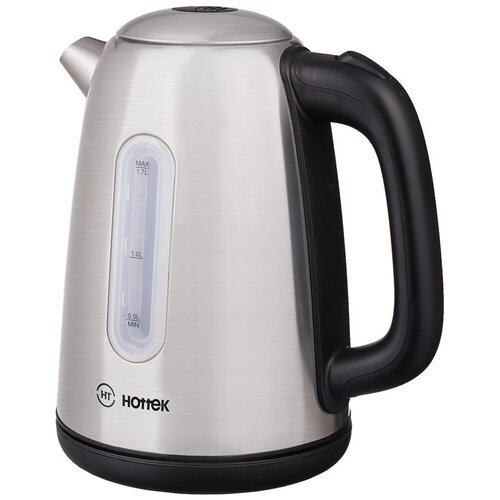 Чайник Hottek Ht-960-013, max 2200 Вт, 1.7л, нержавеющая сталь, серебристый (960-013)