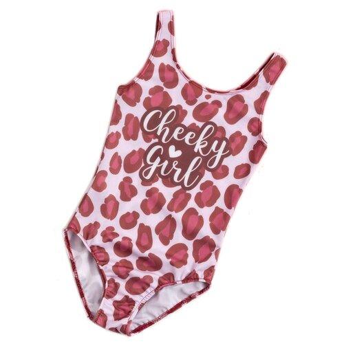 Купить Купальник Kaftan размер 110-116, розовый, Белье и купальники