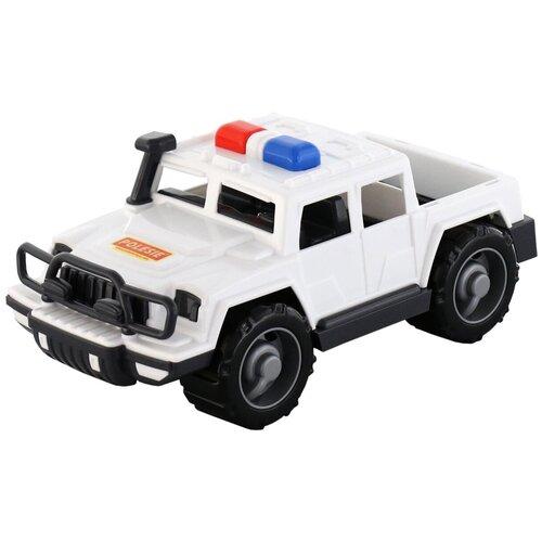 Купить Внедорожник Полесье Защитник патрульный (63588) в сетке, белый, Машинки и техника