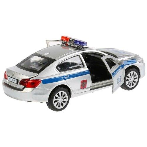 Легковой автомобиль ТЕХНОПАРК Honda Accord (ACCORD-P), 12 см, серебристый